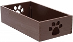 Dynamic Accents Pet Toy Box Mahogany (Small)