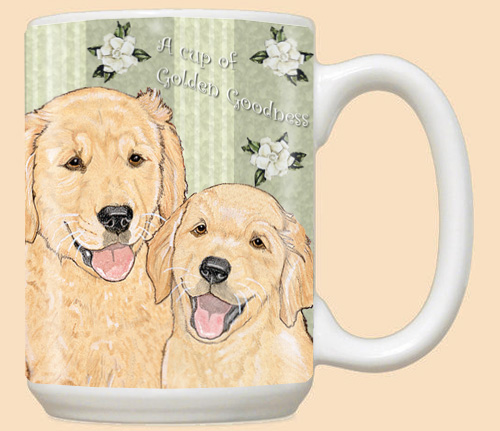 Golden Retriever Dog Breed Mugs