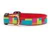 Up Country Color Block Dog Collar
