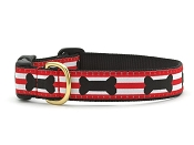 Up Country Got Bones Dog Collar
