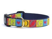 Up Country Dog Love Dog Collar