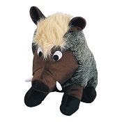 Petlou Warthog Dog Plush Squeaky Toy 8