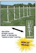 Dog Agility Practice PVC Weave Set