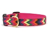 Up Country Zig Zag Wag Dog Collar
