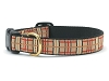 Up Country Plaid Dog Collar