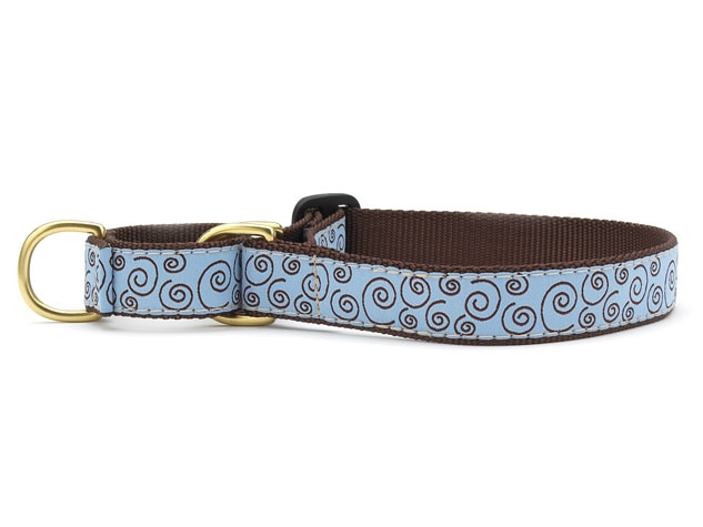 Up Country Curly Q Martingale Dog Collar
