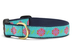 Up Country Dahlia Darling Dog Collar