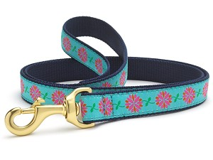 Up Country Dahlia Darling Dog Lead