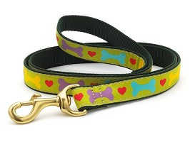 Up Country Heart and Bone Dog Leash Designer