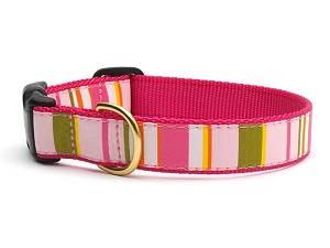 Up Country Donna Stripe Dog Collars