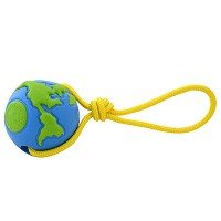 Orbee-Tuff Ball with Rope Medium