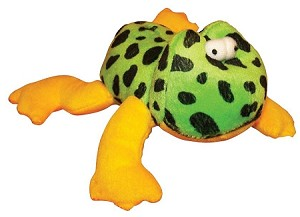 Silly Sound Off Frog Dog Toy 6""