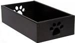 Dynamic Accents Pet Toy Box in Classic Black (Small)