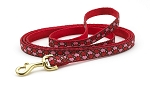 All Hearts Red and Pink Leash 6' 1/2