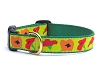 Up Country Poppy Dog Collar