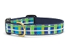 Up Country Newport Plaid Dog Collar