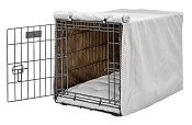 Bowsers Luxury Dog Crate Cover Choose Color