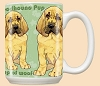 Bloodhound Puppies Breed Mugs