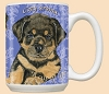 Rottweiler Dog Breed Mugs