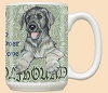 Irish Wolfhound Dog Breed Mugs