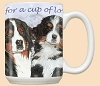 Bernese Mountain Dog Breed Mugs