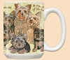 Yorkshire Terrier Family Breed Mugs