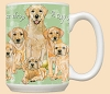 Golden Labrador Dog Breed Mugs