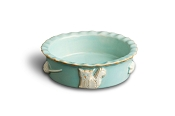 Carmel Ceramica Cat Food or Water Bowl - Sky Blue