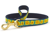 Up Country Bright Sunflower Dog Lead