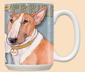 Bull Terrier Bullie Dog Coffee Mug