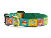 Up Country Cupcake Dog Collar