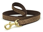 Up Country Greek Key Dog Lead 6 ft 1