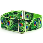 2 Hounds Design Paradise Found Navy Martingale Collar