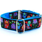 2 Hounds Design Monstro-City Dog Collar or Martingale
