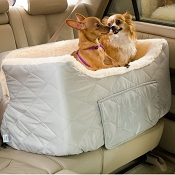 Snoozer Lookout II Dog Car Seat With Storage Large