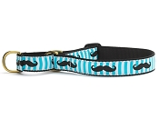 Up Country Mustache Martingale Dog Collar