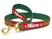 Naughty & Nice Holiday Dog Lead