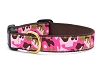 Up Country Pink Camo Dog Collar