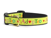 Up Country Adopted Dog Collar
