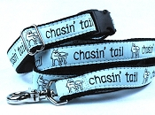 Teddy the Dog Chasin' Tail Collar or Martingale