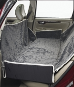 Bowsers Luxury Car Seat Cover Hammock Thunder Dog