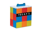 Multi Color Dog Treat Box - Treats Not Included