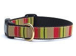 Up Country Adirondack Stripe Dog Collar