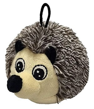 "Petlou 4"" Ez Squeaky Hedgehog Ball Dog Toy"