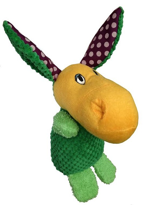 "Petlou Cute Friend's Donkey Dog Toy 6"" or 10"""