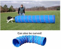 Dog Agility Practice Tunnel 9 ft