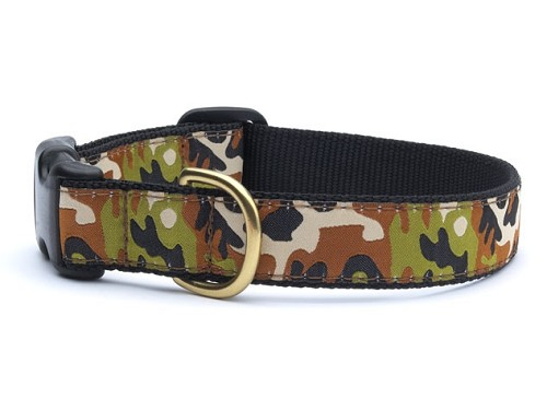 Up Country Camouflage Dog Collar