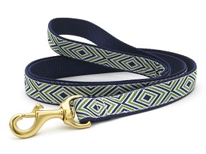 Up Country Diamond Stripe Dog Lead
