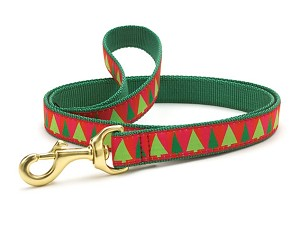 Up Country Festive Trees Dog Lead