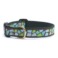 Up Country Jungle Dot Dog Collar